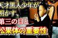 【驚愕】第三の目と松果体について。わずか8歳の天才黒人少年が明かした松果体の重要性とは?(世界不思議DX)